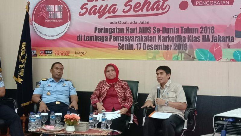 Dukungan Lapas Narkotika Cipinang dan Kemenkes terhadap ODHA