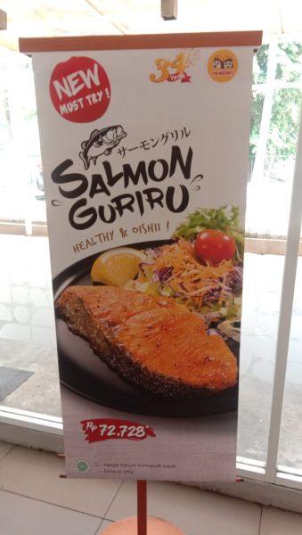 Menu makanan sehat sekarang semakin digemari oleh masyarakat kita 5 Alasan Kamu Harus Nyobain Salmon Guriru Hokben