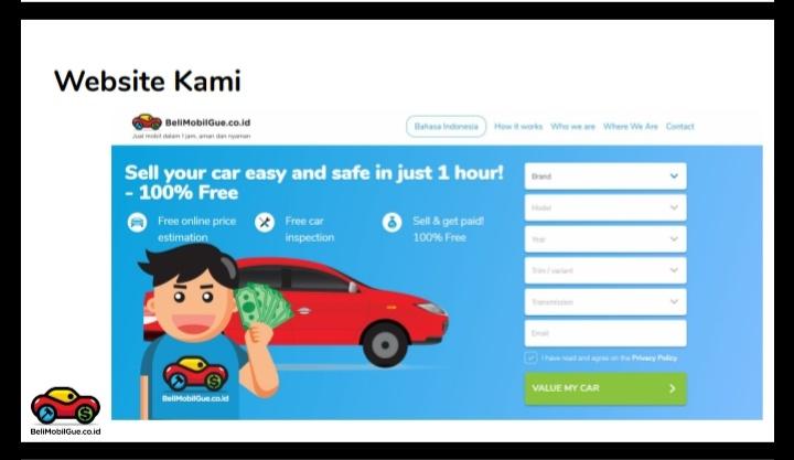 3 Langkah Mudah Jual Mobil di BeliMobilGue.co.id