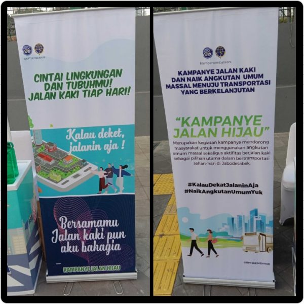 Kampanye Jalan Hijau, kalau dekat Jalanin aja