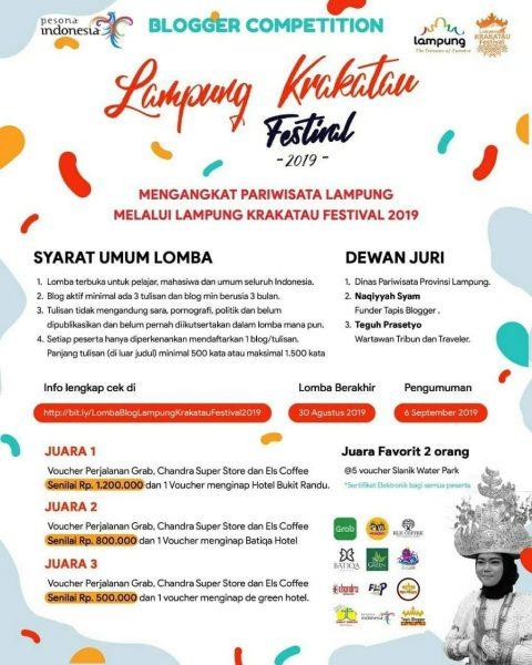 Pesona Indonesia di Lampung Festival Krakatau 2019