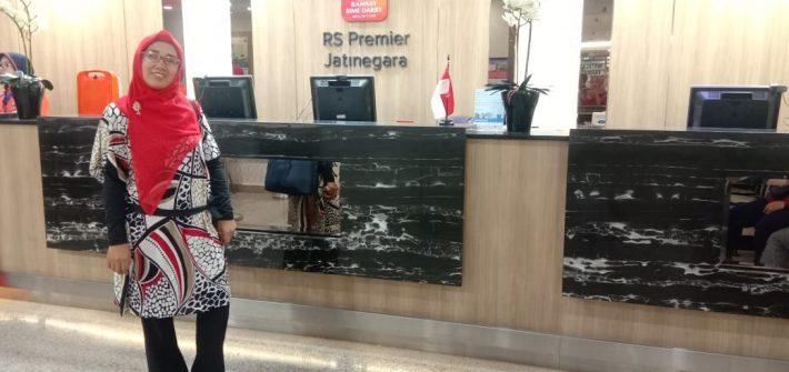 Drive thru swab PCR RS Premier Jatinegara