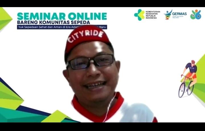 dr. Riskiyana S. Putra, M.Kes selaku Direktur Promosi Kesehatan dan Pemberdayaan Masyarakat