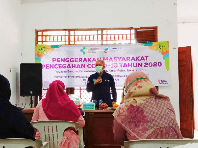 Nurwiyah Verliyanti, MKM selaku Kepala Seksi Kesehatan Masyarakat Sudin Kesehatan Jakarta Timur