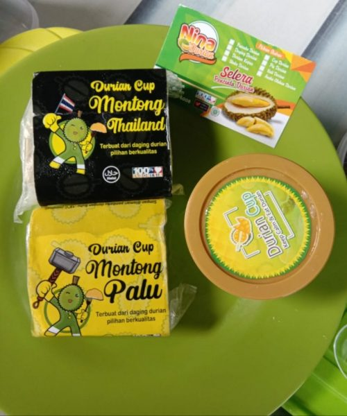 Pecinta Durian wajib coba Nina Durian