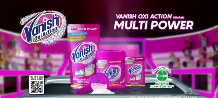 Pengalaman mencuci dengan Vanish Oxi Action Multi Power