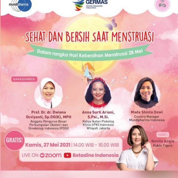 Manajemen kebersihan dan kesehatan saat menstruasi
