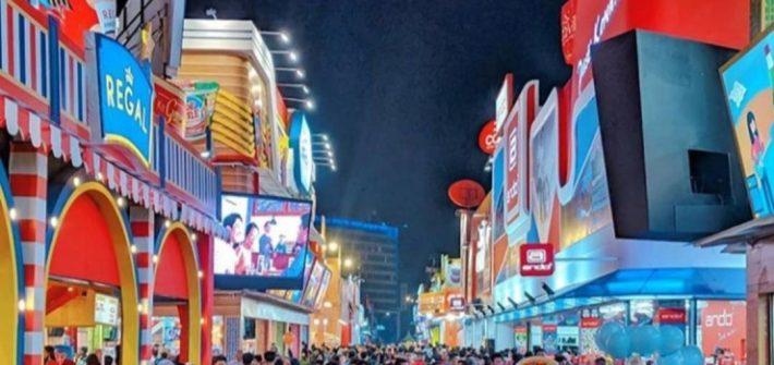 Destinasi belanja dan kuliner ada di Jakarta Fair