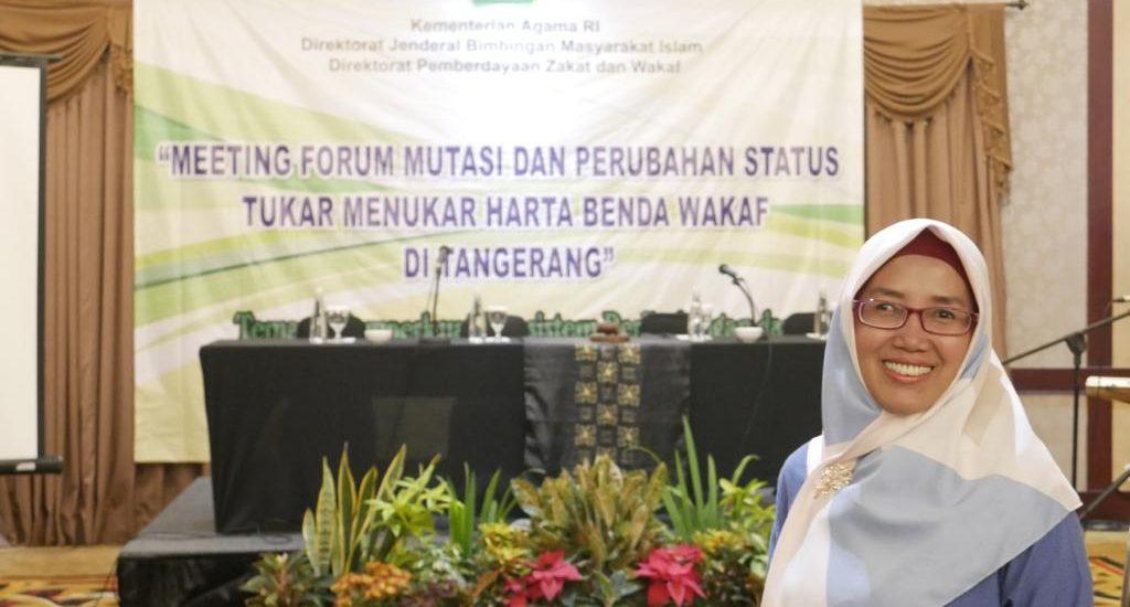 Perubahan status harta benda wakaf dalam hukum di Indonesia